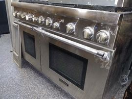 Thermador 6 burner gas range - 2 years old
