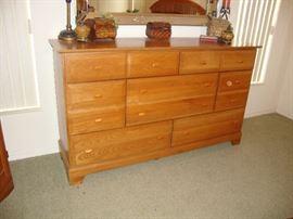 Dresser (matching mirror not shown)