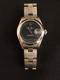 Ladies Rolex, Oyster Perpetual in Stainless Steel