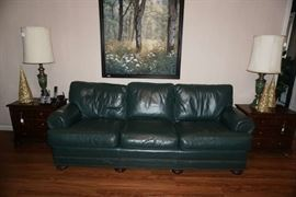 "Custom crafted  sofa by  ""Classic Leather"""