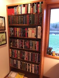 If you like books, this is the sale for you.  A ton of like-new books throughout the house by popular authors: Grisham, Kuntz, Clancy, and much more -- VINTAGE books as well.