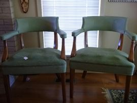 Mid Century Accent chairs