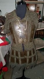 SUNDAY ALL ITEMS 1/2 OFF                                     Large 2 Day Estate/Household Sale                                   ALL NEW ITEMS!! 6 estate/household contents PLUS Christmas moved into our warehouse location. Ca. late 1800's Moro Islamic Philippine chain mail vest