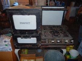 Old Perfect Gas Stove