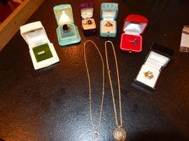 14 & 18K jewelry