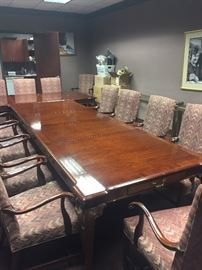 2 beautiful conference tables that can be used as dining tables.