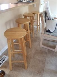 Sturdy bar stools