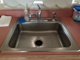 Yes, we are selling the kitchen sink!