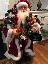 Crakewood Collection Santa by Karen Didion