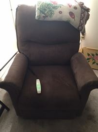 Lift Recliner - full recline and lift functions.