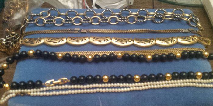 chains, beads