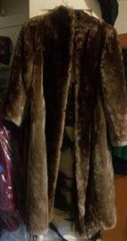 fur coat needs repair