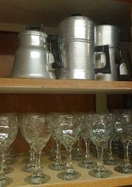 vintage coffee pots, stems