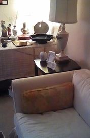 Sofa and accessories