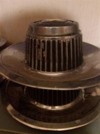 old Chevrolet (I think) hub caps