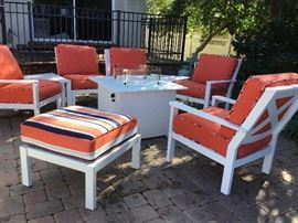 Another top quality patio furniture- purchased less than a year ago from Fireplace and Veranda.
