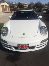 2008 PORSCHE CERRARA S 911 CONVERTABLE UNDER 50K MILES- Excellent condition w/ all receipts. name, number & bid in box that will be inside the sale,will besold right after salePlease place offer in box during the sale. Thank you.