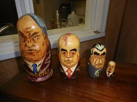 Russian Nesting Dolls Russian Prime Ministers