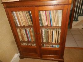 One of many bookcases