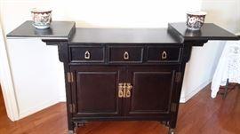 Century Fine Furniture Asian style buffet /bar.