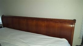 King Sleigh bed   $350