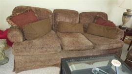 Brown sofa   $175