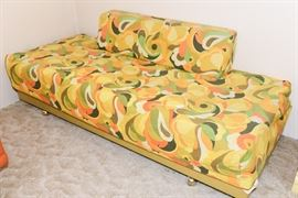Small Vintage Foam Couch
