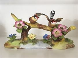 Staffordshire finches