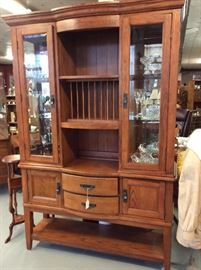 Stunning Serving and hutch from J C Penneys - Holiday collection  paperwork available.