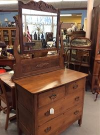 Another remarkable chest with swing mirror