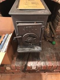 Jotul Wood Burning Stove.
