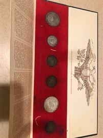 "Coin set - ""a Fourth of July Memento from Time"""