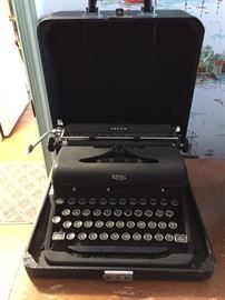 Royal Typewriter.