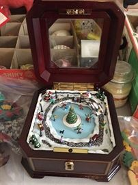Christmas Music Box.