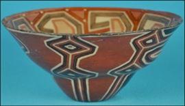 Ecuadorian pottery bowl
