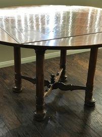 Nice wood dining room table