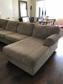 Large Sectional Sofa, Great Condition