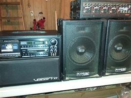 Karaoke Machine, Audio Choice Speakers