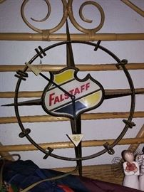 Falstaff Beer Advertising Clock