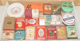 Tobacco Items  From Ron Gammon Personal Collection