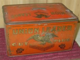 Tobacco Tin  From Ron Gammon Personal Collection