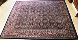 All wool Persian area rug