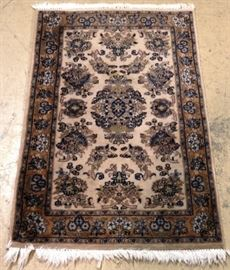 All wool Persian rug