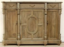 Weathered credenza by B G Ind.