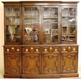 Monumenal English bookcase
