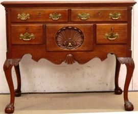Chippendale lowboy by Biggs