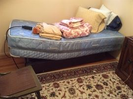 Twin sleep number bed in great condition