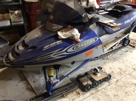 2001 Polaris 2285 miles 600 electric start