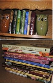 Books - coffee table books.  Antique and collecting books
