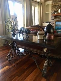 Console table by Bernhardt